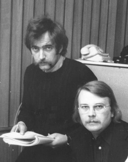Knorr und Genazino 1973, Tonstudio hr
