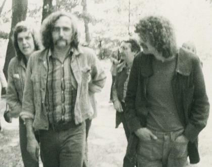 v.l.n.r. Gernhardt, Knorr, Nikel, Waechter, 1969